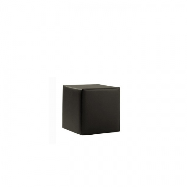 Sitzwürfel 1er schwarz | Möbel | Loungemöbel | Classic black Lounge