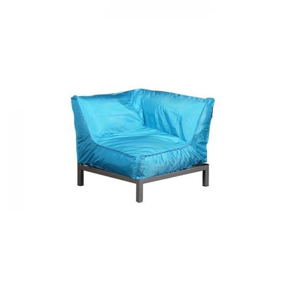 Sessel VIVA Eckelement blau atoll | Möbel | Loungemöbel | VIVA In ...