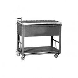 Holzkohlegrill Raulwing 101 x 61 x 85 cm