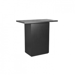 Counter Plain Basic 120 x 68 x 110 cm, schwarz
