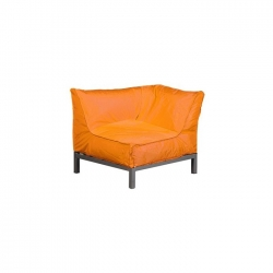 Sessel VIVA Eckelement orange